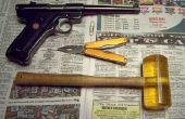 Ruger Mark III pistola tomar abajo y montaje