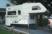 Almacenamiento y creaciones para una caravana de camiones. (o pequeño patio de perro)