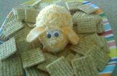 Bunny conejo bola de queso con galletas