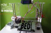 Cómo ensamblar la impresora 3D muy barata