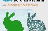 Hacer patrones de Voronoi para imprimir 3D con Autodesk® Meshmixer