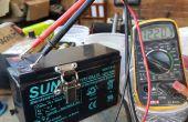 12V 3s batería de ión de litio con una batería de 7ah plomo.