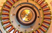 Construcción de un POV, motor de reloj de hélice