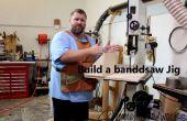 Construir un trineo/posicionador de Sierra de cinta para corte transversal y cortes largos