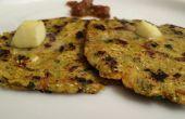 Relleno de Makki Ki Roti / receta de pan indio