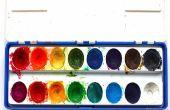 DIY: Hacer sus propios colores de agua utilizando solo ingredientes de la taza 2!