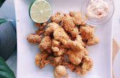 RECETA | COLIFLOR de palomitas de maíz y ajo ALIOLI DIP