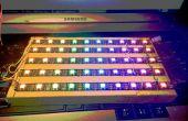 Matriz de LED RGB 10 x 5 con sólo 5 pernos del IO