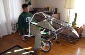 Método para hacer formas 3D (utilizados para hacer un carenado de moto)