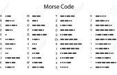 Experimento para la diversión: Encrypter código Morse usando Arduino y Smartphone!!!