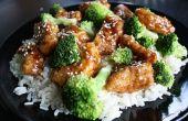 Fácil chino de pollo y brócoli