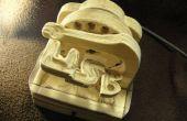 Miniatura USB alimentado mármol máquina con puerto USB