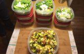 Una semana de comidas saludables en 2 horas