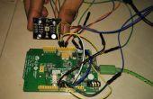 Detección de uso de Sensor de color TCS3200 y LinkIt uno de color