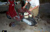 Instalar un Kit de 65cc Pollini en un Velocifero de Italjeft 1998