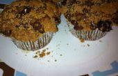 Chocolate Chip Muffins de plátano café