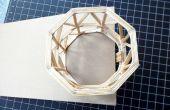 Cómo hacer una estructura estable de palillo
