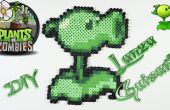 Plantas VS Zombie Lanza guisantes con abalorios Hama DIY