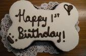 Torta de cumpleaños del perrito!