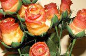 Rosas de tocino