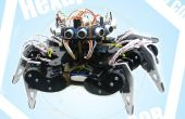 Arduino hexápodo Avoider Robot