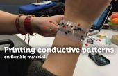 Impresión de patrones conductores en TfCD Material Flexible