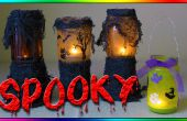Linterna de Halloween Haunted DIY