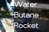 Cohete de agua de butano!