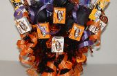 Decoraciones de Halloween: Halloween Candy Bouquet