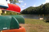 Lanzamiento de canoa y Kayak