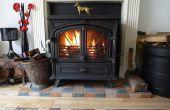 Cómo mejorar la antigua sesión aumentar la eficiencia de los quemadores madera Clean burn gasificación combustión secundaria