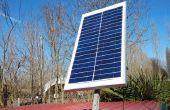 Impianto fotovoltaico autónomo (stand alone fotovoltaica planta)