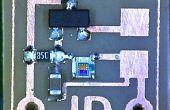 Micro interruptor activado oscuro