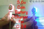 Moneda DIY cargador de batería para 0.3$