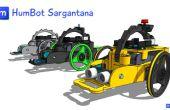 3D robot impreso Arduino: Humbot Sargantana