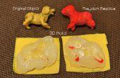 DEJAR de pegamento caliente 3D moldes para modelos de masa Play -