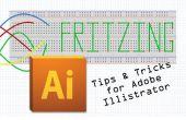 Rápidos consejos y trucos al hacer tablas de Fritzing