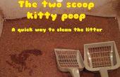 2 cucharada método de caca de kitty - una forma realmente rápida para limpiar los gatos