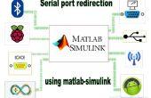 Bluetooth - redirección de puerto serie usando matlab/simulink