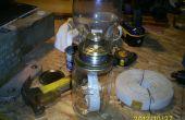 Linterna de emergencia de tarro de masón