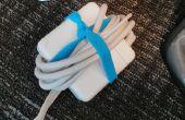 ¿Pulseras de goma Mantén el cable de alimentación organizada