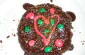 """Cómo hacer un fácil cueza al horno""""pastel de chocolate para la Navidad!"""