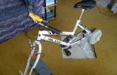 Generador de bicicleta estacionaria de lavadora