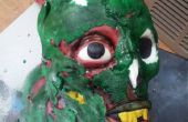 Pastel de cabeza de Zombie