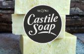 Jabón de Castilla puro y suave