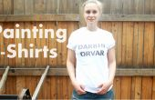 BRICOLAJE Cómo pintar camisetas