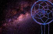 Resplandor en el galaxia oscura atrapasueños