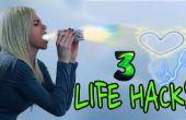 3 vida HACKS / Hacks de día de San Valentín