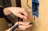 Cómo utilizar un probador de circuito
