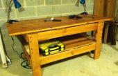 Upcycled litera Workbench